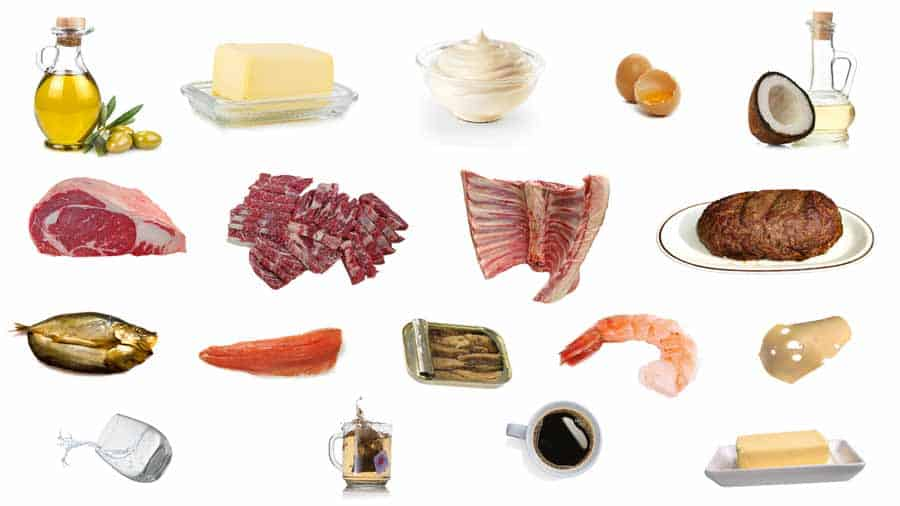 Foods To Eat On A Keto Diet: Zero Carb Foods