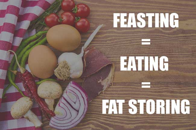 fat storing on a keto diet, eating
