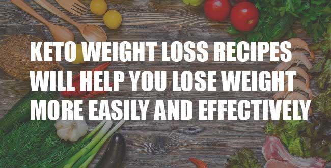 keto weight loss recipes