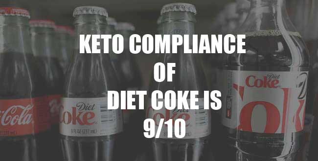 Diet Coke and Coca-Cola Zero on keto