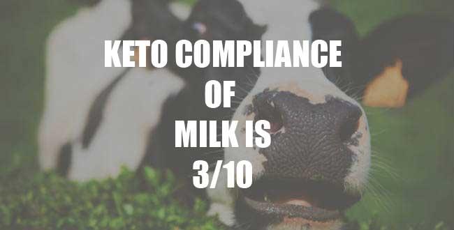 Milk on keto, milk and a keto diet
