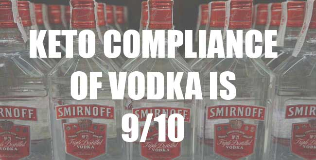 can you drink vodka on keto, vodka on keto