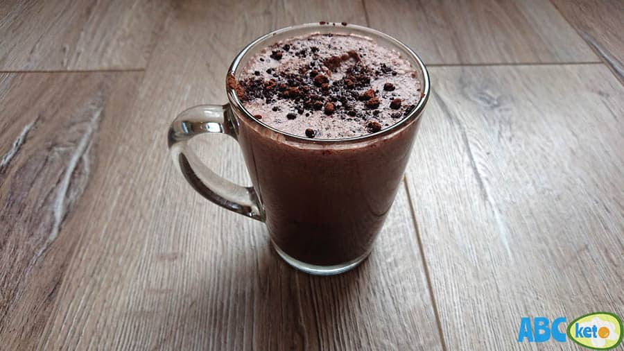 Keto chocolate milk recipe