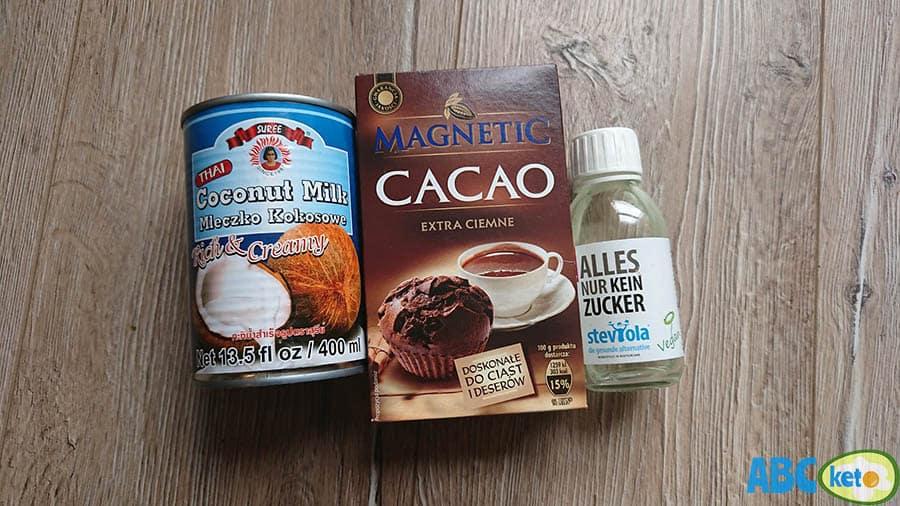 Keto hot chocolate ingredients