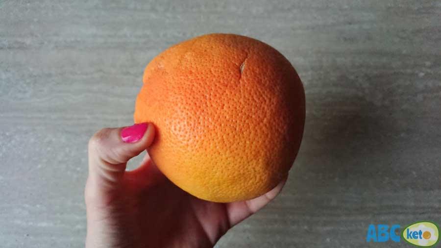 grapefruit, keto kale smoothie ingredient