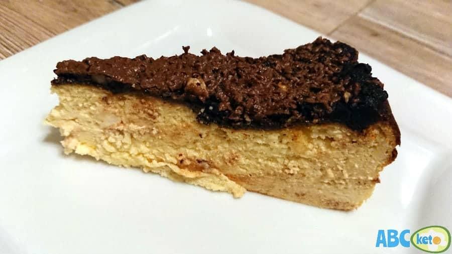 Crustless keto cheesecake