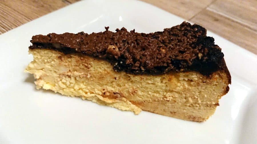Crustless keto cheesecake