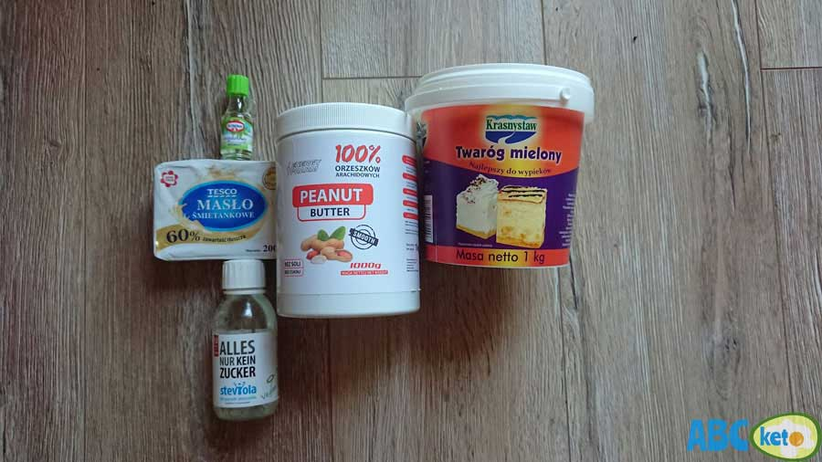 Keto peanut butter cheesecake filling ingredients
