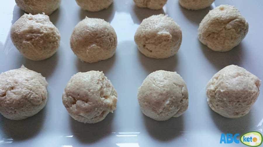 Keto peanut butter cream cheese balls