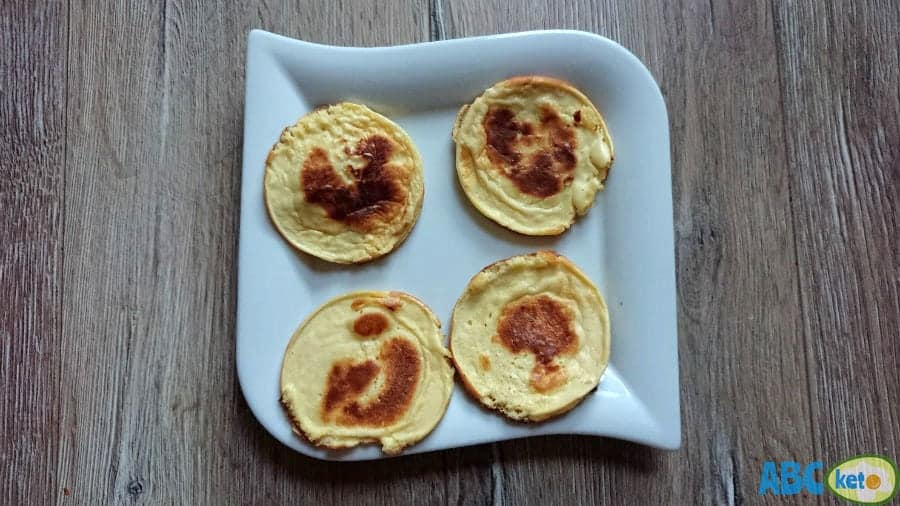 Ready keto pancakes