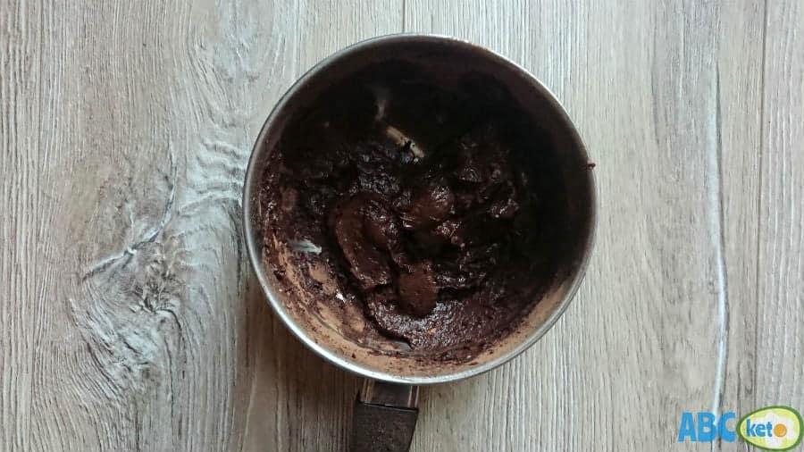 Avocado Nutella topping for keto pancakes
