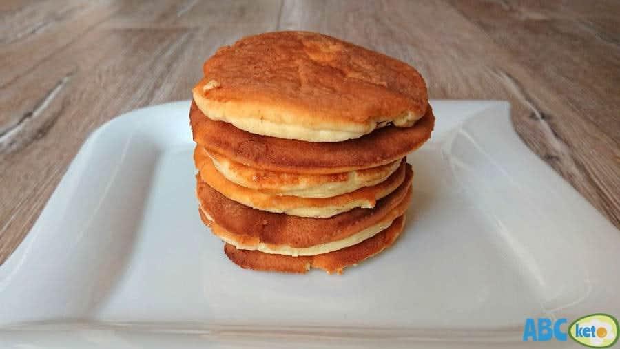 Keto pancakes recipe