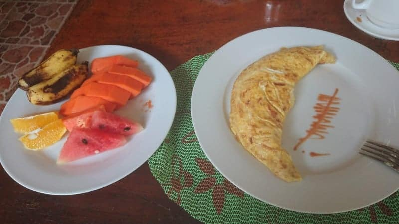 keto on vacation, omelet