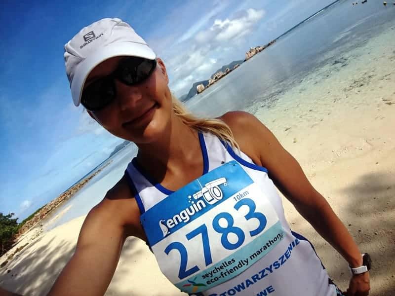 Running on seychelles